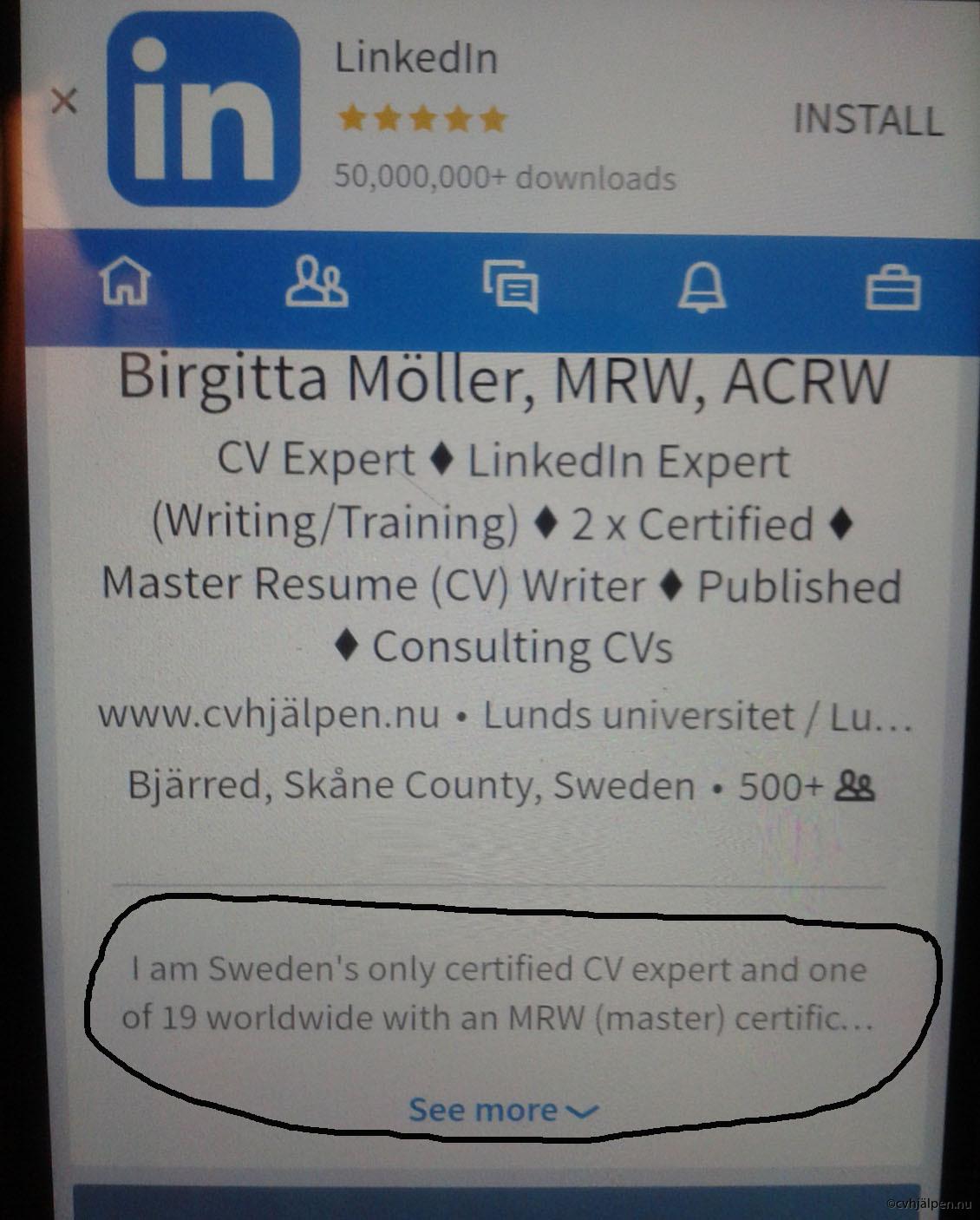 Berühmt Lebenslauf Linkedin Profil Writer Galerie ...