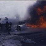 Brandbekämpning Hertsön brandövningsfält