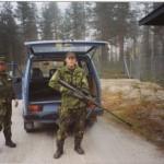 Vapen utbildning OMG 971 befäl Jan Johansson beväring Stefan Brunström