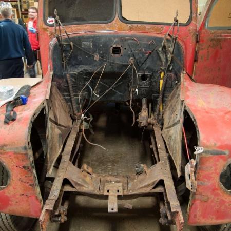 Motorn på renovering