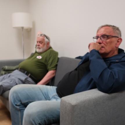 KasernenF16 Ulf Johansson  och Janne Björklund