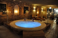 Spa at the farm hotel, day 1. Perfect start for your cycling!