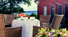Boende i Onsala/Gottskär med havsutsikt och nära till bad, dag 9.