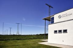 Spännande besöksmål passeras på vägen, här Världsarvet Grimeton Radiostation, dag 1. Foto halland.se.