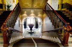Övernattning på hotell i Varberg med stämningsfylld sekelskiftesatmosfär, dag 4. Asia Spa kan bokas via hotellet, men tillgång till relaxavdelning ingår.