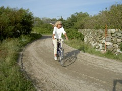 Biking package with transport of your luggage makes your cycling tour easier.