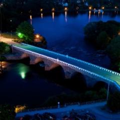 I Falkenberg bor ni på ett charmigt ochcentralt hotell med utsikt över ån Ätran, känd för sitt laxfiske, dag 5.