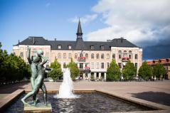 Övernattning på hotell i Varberg med stämningsfylld sekelskiftesatmosfär, dag 6.