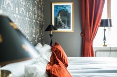 Bekväm övernattning på högklassigt hotell om du väljer att stanna en extranatt i Göteborg efter avslutad tur, dag 7.