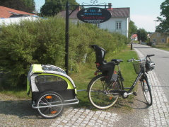 One of your overnight stays will be at one of the B&B:s in Åsa, a small village south of the town Kungsbacka, day 4.