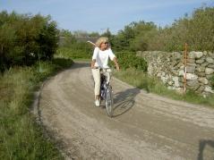 Bagagetransport mellan boendena gör din cykling lättare.  Bagaget väntar när du kommer fram till din övernattning.