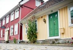 Passa på att stanna en extranatt  i Falkenberg före eller efter cykelturen! Bo på fullservicehotell centralt och upplev t ex Gamla Stan.