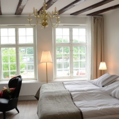 Nice, comfortable beds are waiting for you after the day trips. Here in Falkenberg, day 4.