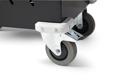 Solida hjul med fotbroms