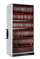 Kompaktarkiv med hängmappsinredning