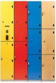 Elevskåp i olika storlekar