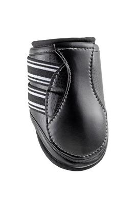 D-Teq™ Boots, bakskydd, svart ostrich, L - D-Teq™ with Impacteq™ Liners, bakskydd, svart ostrich, L