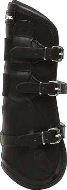 T-Boot Luxe™, Framskydd, svart läder, S/M - T-Boot Luxe™, Framskydd, Svart läder, S/M
