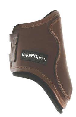 T-Boot Luxe™, Bakskydd, Brunt läder, S/M - T-Boot Luxe™, Bakskydd, Brunt läder, S/M