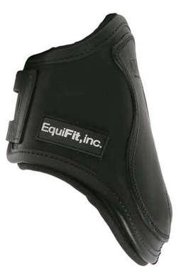 T-Boot Luxe™, Bakskydd, svart läder, S/M - T-Boot Luxe™, Bakskydd, svart läder, S/M