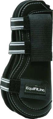 T-Boot EXP2™, framskydd med kardborre, svart, S/M - T-Boot EXP2™, framskydd med kardborre, svart, S/M