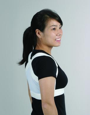 ShouldersBack™ Lite, barnstorlek, vit - ShouldersBack™ Lite, barnstorlek, vit
