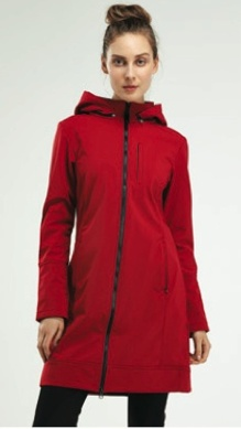 All Weather Rider Lightweight, medium - Scarlet