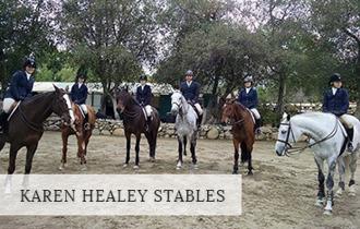 Karen Healy stables