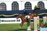 Elite equestrian Leif Hall competed Coks