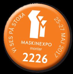 Välkommen att besöka HAMO Container på MaskinExpo 2017 i monter 2226!
