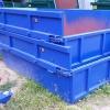 Öppen lastväxlarcontainer 5 kbm med kärrlucka