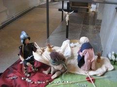 Kvinnorna vid korset. Påskbord Vänersborgs kyrka.