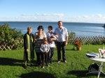 dop under himlen vid Vänerns strand
