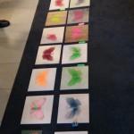 Vi fick lära oss lite estniskt hantverk vid en workshop