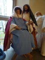 Maria och Josef i Vänersborgs kyrka.