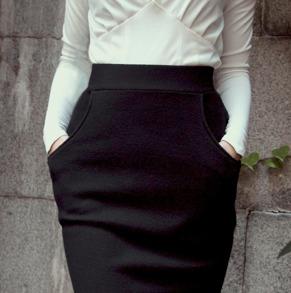 skirt Mary black - 34