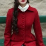 coat Saga red - 44