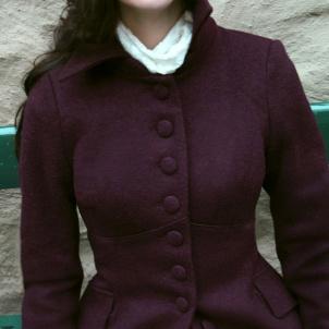 coat Saga plum