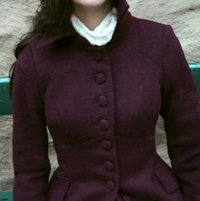coat Saga plum - 42
