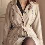 all weather coat Windy waisted, beige