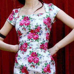 dress Rose white - 38