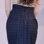 skirt Mary blue checks - 44