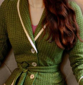cardigan Sally green - 34