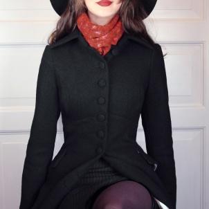 coat Saga black