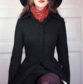 coat Saga black - 42