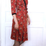dress Elenor red