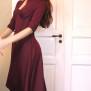 dress Rita red