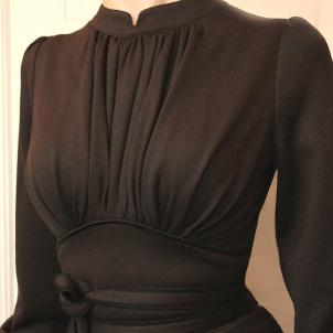 dress Mirja dark chocolate