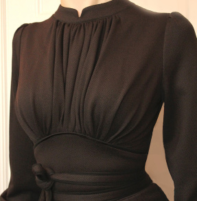 dress Mirja dark chocolate - 36