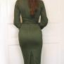 dress Mirja green